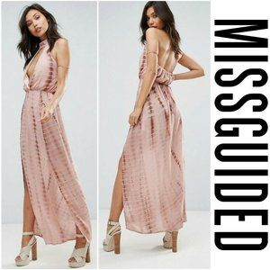 NWT - Missguided - Halter Maxi Dress - 4